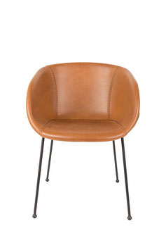 DESIGN STUHL MONKEY BROWN