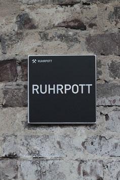 HEIMATICON RUHRPOTT _ WANDBILD FÜR DAS RUHRGBEBIET