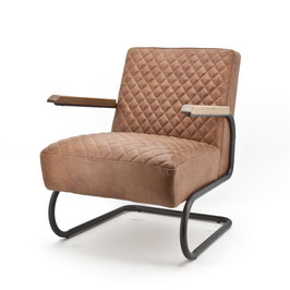 COBRA _ Design Sessel Cognac