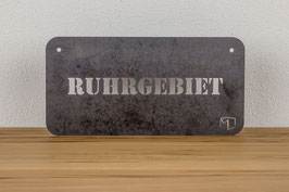 STAHLSCHILD RUHRGEBIET _ RUHRPOTT SOUVENIR