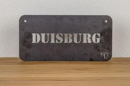 STAHLSCHILD DUISBURG _ RUHRPOTT SOUVENIR