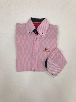 Camisa rayas rosa La Española