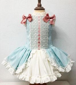 Vestido Evasé  Colección Marquesita Real