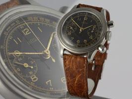 Original ARSA Armbanduhr Handaufzug Cal Valjoux 23 50er Jahre original steel