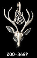 Stag with Pentacle