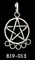 Pentacle Charm Holder