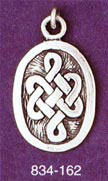 Tibetan Knotwork - Oval