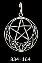 Pentacle with Knotwork