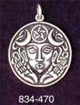 Goddess Medallion