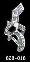 Eagle / Salmon Totem