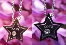 "Partnerketten ""Loved Star"""