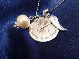 "Anhänger ""Mommy of an Angel"""