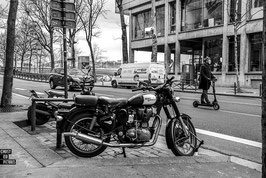 PARIS - AND THE WINNER IS NOT ROYAL ENFIELD