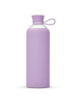 Doli Trinkflasche aus Glas, violet