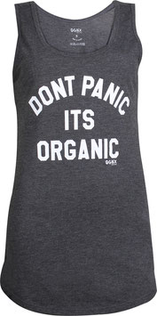 Don't Panic Tank Top, schwarz