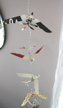 "guirlande oiseaux lumineuse ""INSTANT MAGIQUE"""