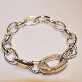 Massieve zilveren armband