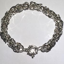 Zilveren massieve armband