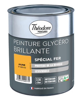 Peinture  Glycéro Spécial Fer THEODORE PEINTURES