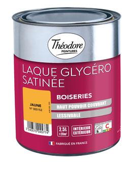 Peinture Laque Glycéro Satinée pour Boiseries THEODORE PEINTURES