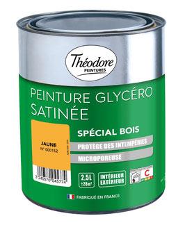 Peinture Laque Glycéro Satinée Spécial BOIS THEODORE PEINTURES