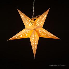 Mini-Stern Sterntaler gelb (inklusive Beleuchtung)