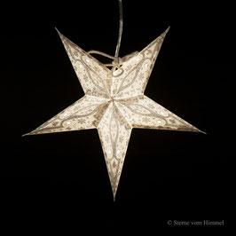 Mini-Stern Silber (inklusive Beleuchtung)