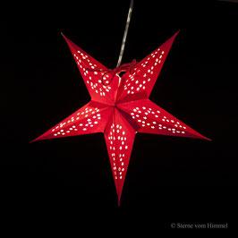 Mini-Stern Sterntaler rot (inklusive Beleuchtung)