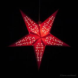 Midi-Stern Sterntaler rot (inklusive Beleuchtung)