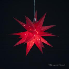 Oldenburger Adventsstern rot ML (inklusive Beleuchtung)