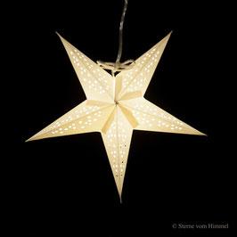 Mini-Stern Sterntaler weiss (inklusive Beleuchtung)