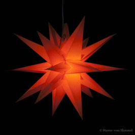 Midi Orion orange (inklusive Beleuchtung) 3D Stern