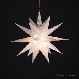Oldenburger Adventsstern weiß (inklusive Beleuchtung) 3D Stern