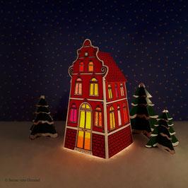Mini Classica Rot (inklusive Beleuchtung)