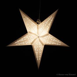 Midi-Stern Sterntaler weiss (inklusive Beleuchtung)