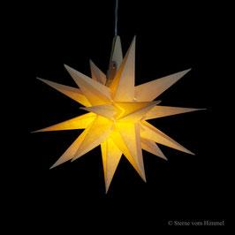 Oldenburger Adventsstern gelb (inklusive Beleuchtung) 3D Stern