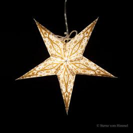 Mini-Stern Gold (inklusive Beleuchtung)