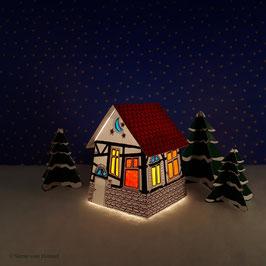 Mini Rustica weiß (inklusive Beleuchtung)