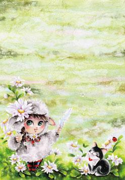 Notizblock Gänseblümchen