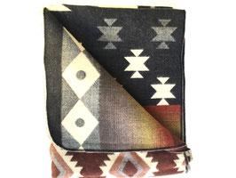 alpaca blanket ethnic earth