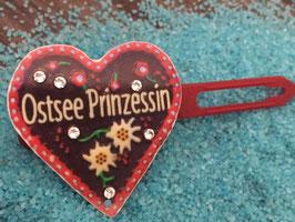 "MotivSpange "" Oktoberfest Ostsee Prinzessin Rot mit SWK """