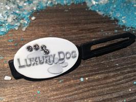 "Balken HundehaarSpange "" Motiv Luxury Dog  mit SWK "" (1)"