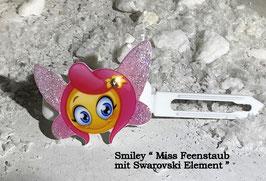 """SonderEmotion / Smiley HundeHaarSpange  """" Smiley MissFeenstaub """" mit oder ohne SWK"""