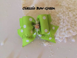 "Schleife "" Classic Bow Green  """