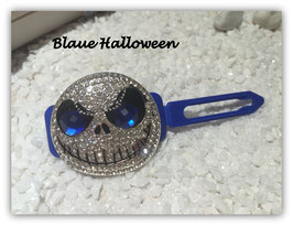 "Highlight Spange Halloween 5A "" Ghost with blue eyes  """