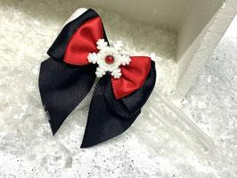 SchneeflockenSchleife rot 5