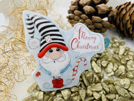 "HundehaarSpange "" Wichtel Merry Christmas  """