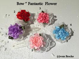 "Schleife "" Fantastic Flower  5 Colors """