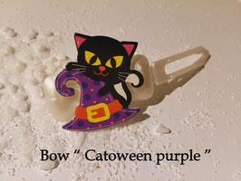"Halloween Bunte Motivspange "" Zauberhut 4 """