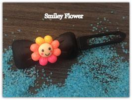 "HundehaarSpange Sonne   "" Smiley Flower  Nr. 1 """